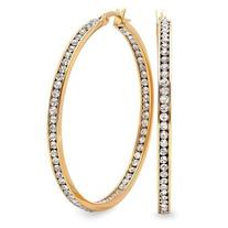 2 Inch Stainless Steel Gold Plated High Shine Inside-Out