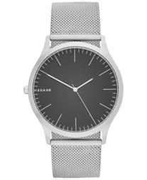 Skagen Men's Stainless Steel Mesh Bracelet Watch 41x45mm