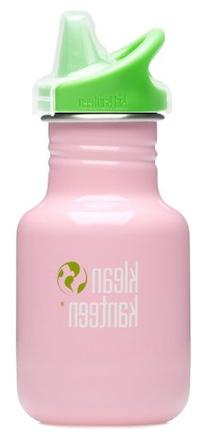 Klean Kanteen 12 oz Stainless Steel Water Bottle  - Pink