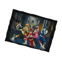POWER RANGERS STANCE-PILLOW CASE-WHITE-ONE SIZE 20 x 28
