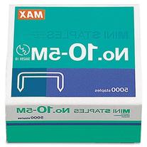 "Mini Staples for use in Max HD-10DF Stapler, 3/8"" Crownx3/16"