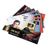 Star Trek 50th Anniversary - Set of 8 Collector Official