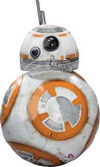 "33"" Star Wars BB8 Shape Foil Balloon"