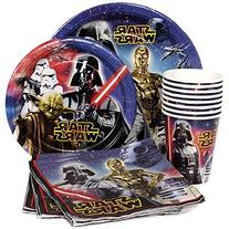 Star Wars Birthday Party Supplies Pack for 8 Guests - Lunch