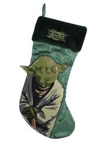 "Star Wars 17"" Yoda Christmas Holiday Stocking"