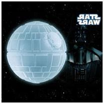 Star Wars Death Star Black Silicon Ice Cube Tray