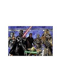 1 X Star Wars Generations Wall Mural by KidsPartyWorld.com