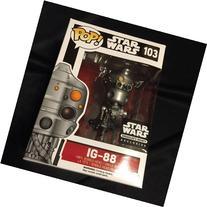 Funko POP Star Wars: IG-88 Action Figure Exclusive Smuggler'