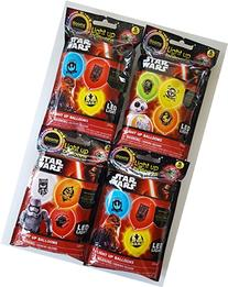 Star Wars LED Light Up Balloons - 20 balloons . Assorted