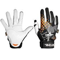All Star Youth System 7 Inner Gloves White/Orange Left