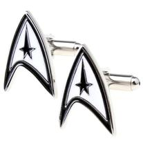 APEX Starfleet Logo Cufflinks with Gift Box