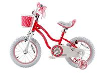Royalbaby Stargirl Girl's Bike with Training Wheels and