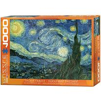 Eurographics Starry Night by Vincent Van Gogh 1000-Piece
