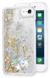 Skinnydip Stars & Glitter Liquid Iphone 7 Case - Metallic