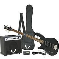 Dean Starter Bass Pack with Edge 09 Bass, Classic Black