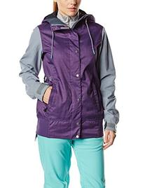Volcom Junior's Stave Snow Jacket, Purple, Medium