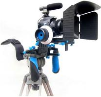 Pro Steady DSLR Complete Movie Rig with Shoulder Mount and