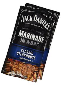 Jack Daniel's Steakhouse EZ Marinader, 12 oz