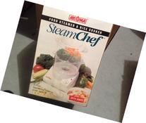 AROMA STEAM CHEF - Food & Rice Steamer - model AVS-300T