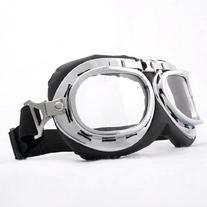Astra Depot Steampunk Goth Style Aviator Unisex UV Goggles