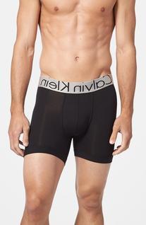Men's Calvin Klein Steel U2719 Microfiber Boxer Briefs, Size
