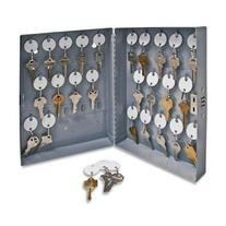 "Sparco All-Steel Hook Design Key Cabinet - 10"" x 3"" x 12"" -"