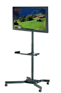 "Elitech Mobile LED LCD TV Cart Stand for up to 46"" TV, TV"