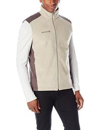 Columbia Men's Steens Mountain Vest, Tusk/Buffalo, Large