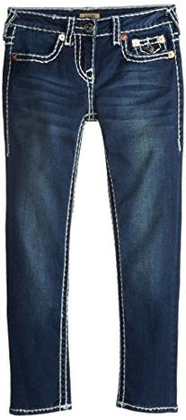 True Religion Girls' Stella Skinny Super T Jean