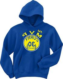 """Steph Curry Golden State Warriors """"THE MVP"""" Hooded"""