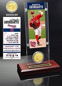MLB Ticket and Minted Coin Holder - Washington Nats Stephen