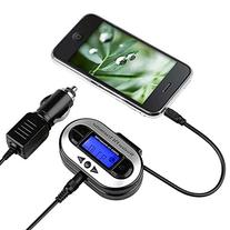 Insten LCD Stereo Car FM Transmitter for MP3 Player iPod