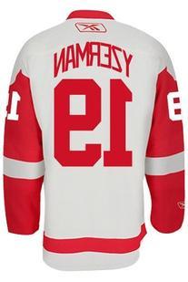 Steve Yzerman Detroit Red Wings Reebok Premier Away Jersey