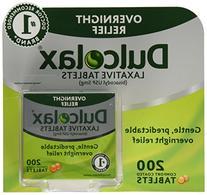 Dulcolax Stimulant Tablets 200 count, 1 Bottle