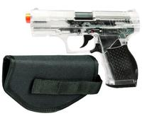 Crosman Stinger P9T Clear and Black AirSoft Pistol with