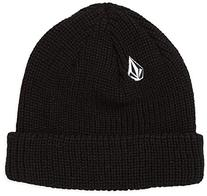 Volcom Boy's Full Stone Beanie, Black, One Size