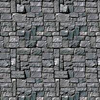 Stone Wall Backdrop Party Accessory