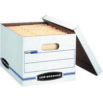 Bankers Box - Stor/File Storage Box - Letter/Legal - Lift-