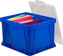 Storex Storage and Filing Cube, 17.25 x 14.25 x 10.5 Inches