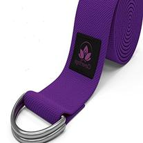 Clever Yoga 8-Foot Yoga Strap Made With The Best, Durable