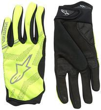 Alpinestars Stratus Glove, Yellow Fluorescent/Silver, Medium