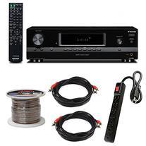 Sony STRDH130AV Receiver w/Power Strip, Wire and Two RCA