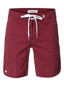 Quiksilver Men's Street Trunk Walk Shorts ,Cabernet ,38