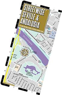 Streetwise Seville Map - Laminated City Center Street Map of