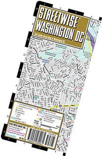 Streetwise Washington DC Map - Laminated City Center Street