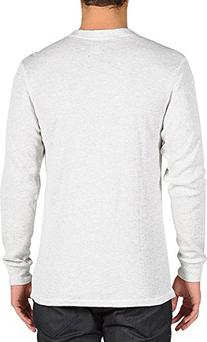 Volcom Men's Streight Thermal Long Sleeve, White, Small