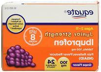 Equate Junior Strength Ibuprofen Compare to Motrin Junior