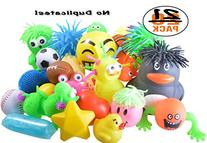 Stress Balls and Squeeze Toys Value Assortment 20  per pack