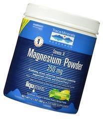Stress-X Magnesium Powder-50 servings Trace Minerals 12.7 oz