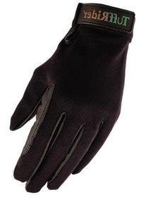 TuffRider Stretch Back Glove - Black/XL